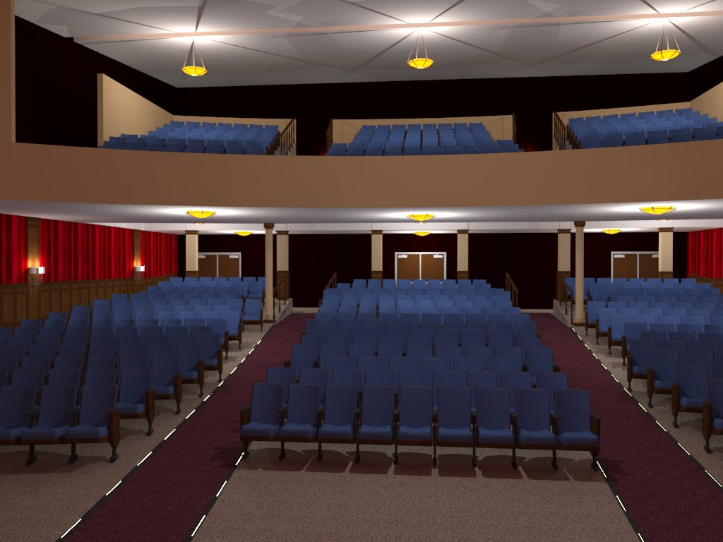 John Legend Theater Craig Dillon Architects