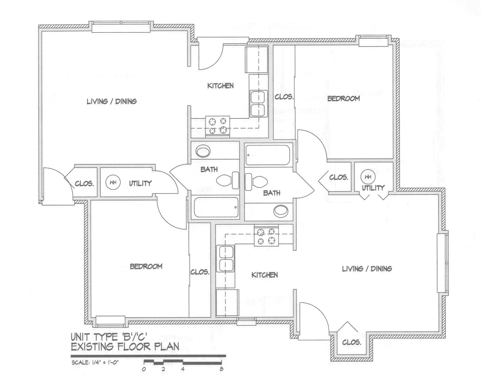Madrid existing floor plan