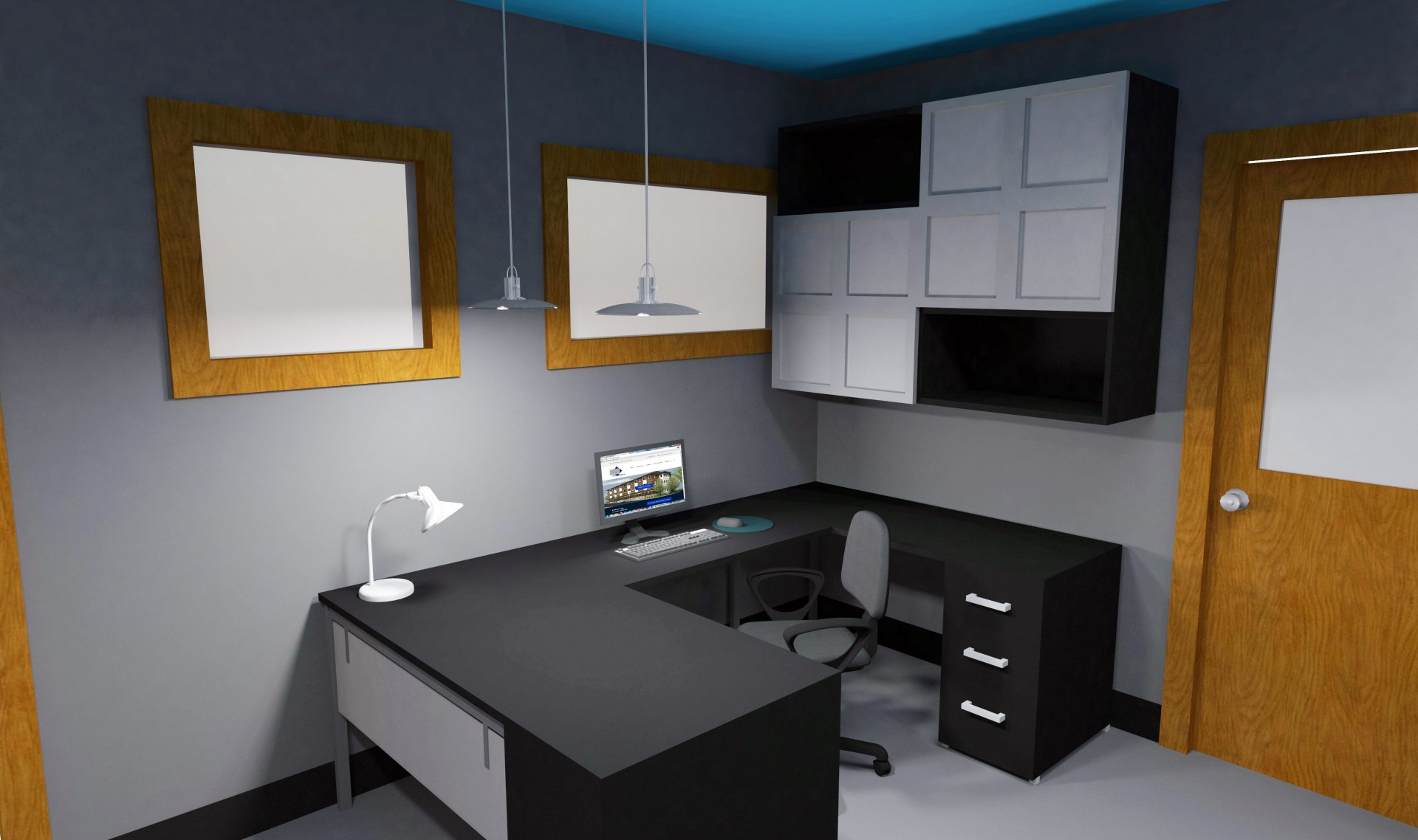 desk rendering final